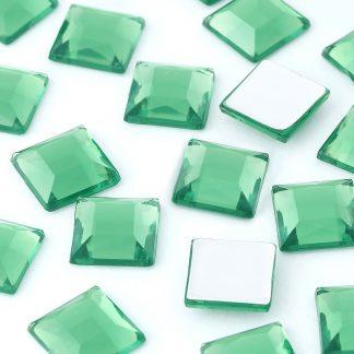 Dżety kwadratowe 10 x 10 mm (zielony) - 1000 szt.