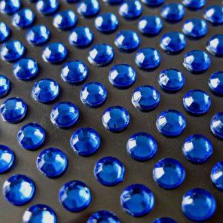 Cyrkonie okrągłe 2 mm (niebieski) - 176 szt.