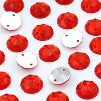 Dżet okrągły z dziurkami 10 mm (czerwony) - 2000 szt.