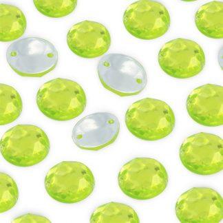 Dżet okrągły z dziurkami 10 mm (zielony) - 2000 szt.
