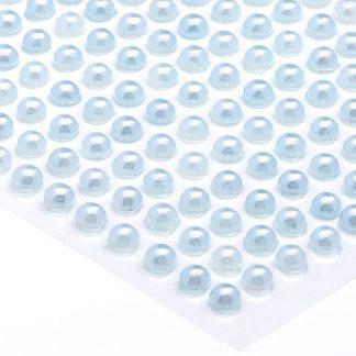 Półperełki okrągłe 5 mm (błękitny) - 100 szt.