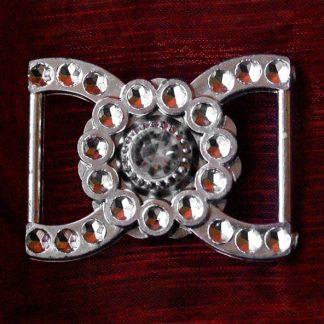 400 szt. Klamra ozdobna (srebrna) BUC7.19