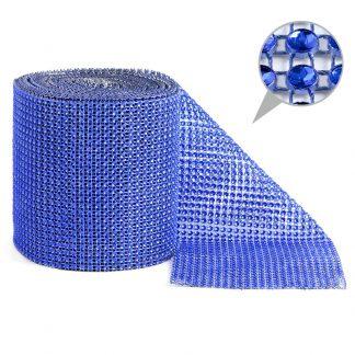 Taśma dekoracyjna 12 cm x 9m (niebieska) - 1 szt.