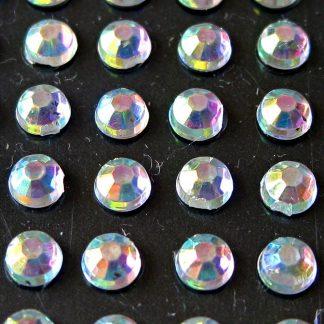 Cyrkonie okrągłe 3 mm (opalizujący) - 176 szt.
