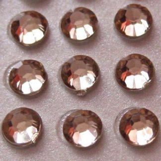 Cyrkonie okrągłe 2 mm (ecru) - 176 szt.