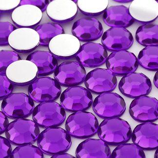 Dżet okrągły 5 mm (fioletowy) - 5000 szt.